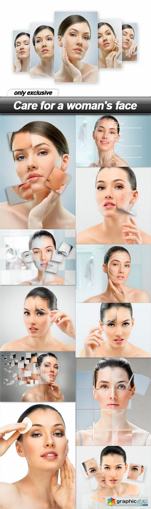 Care for a woman's face - 12 UHQ JPEG