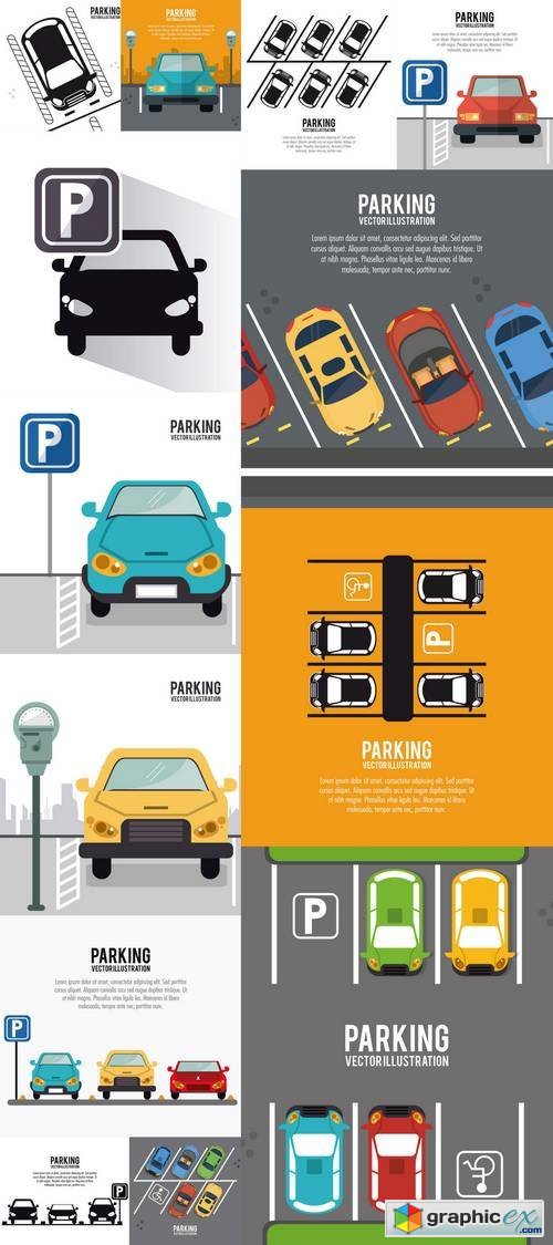 Car Vehicle Auto Parking Zone