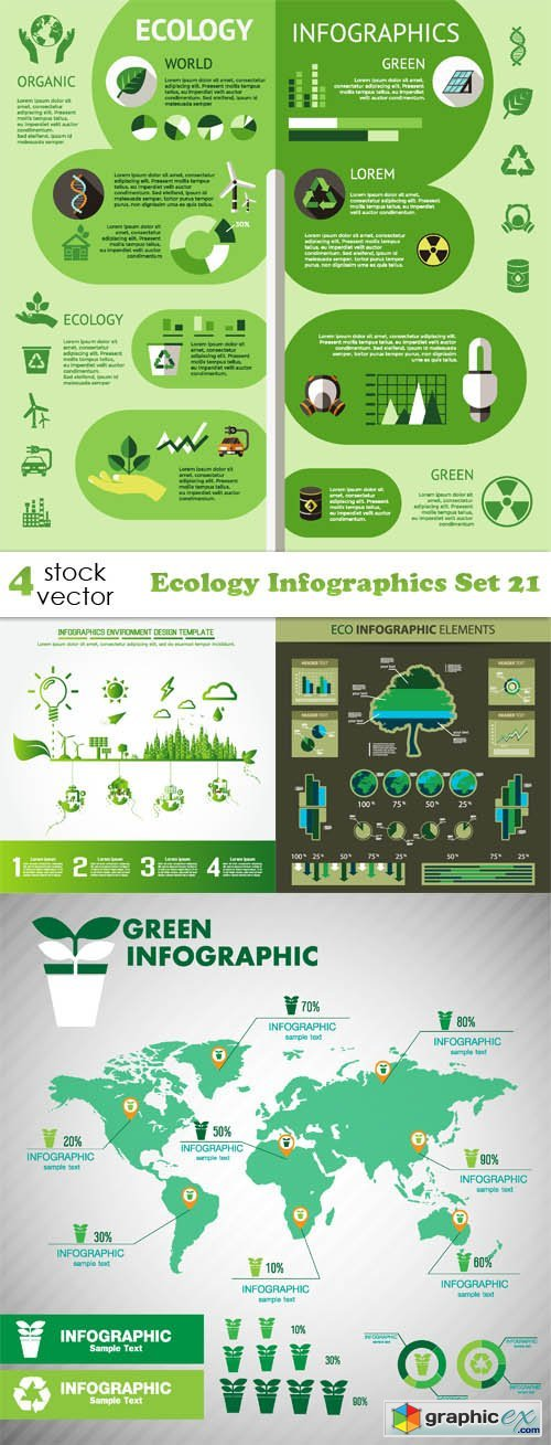 Ecology Infographics Set 21