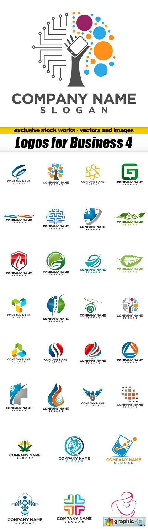 Logos for Business 4 - 30xEPS