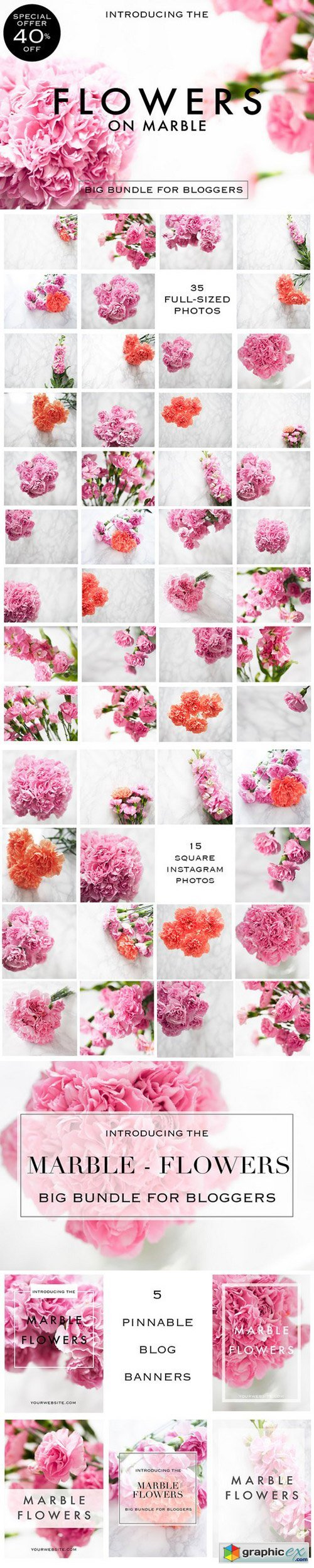 Styled photos flowers edition