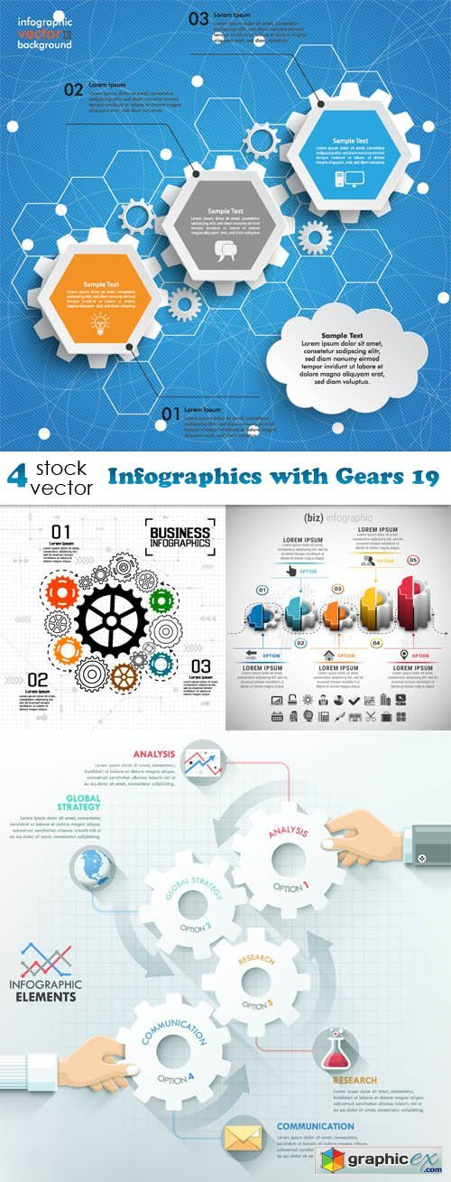Infographics with Gears 19