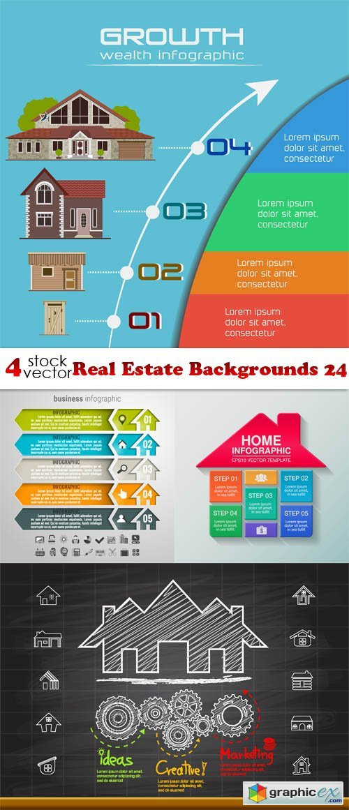 Real Estate Backgrounds 24