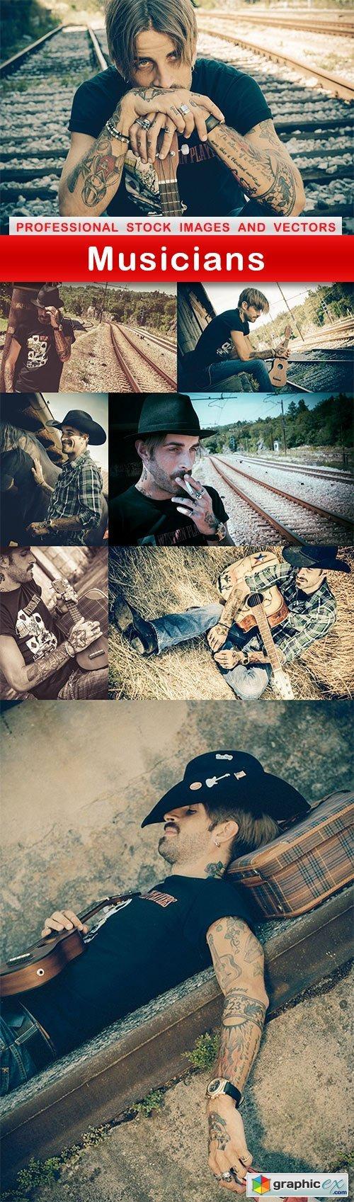 Musicians - 8 UHQ JPEG