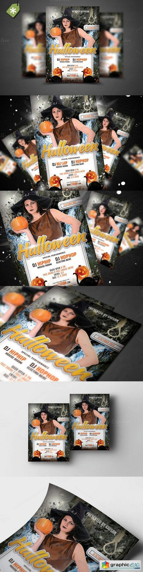Halloween Flyer Template 8