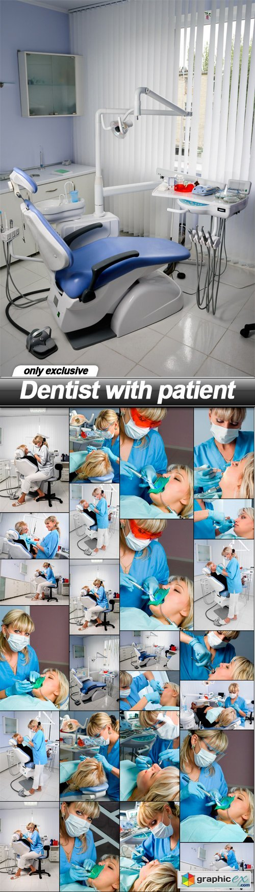 Dentist with patient - 25 UHQ JPEG