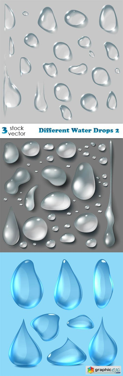 Different Water Drops 2