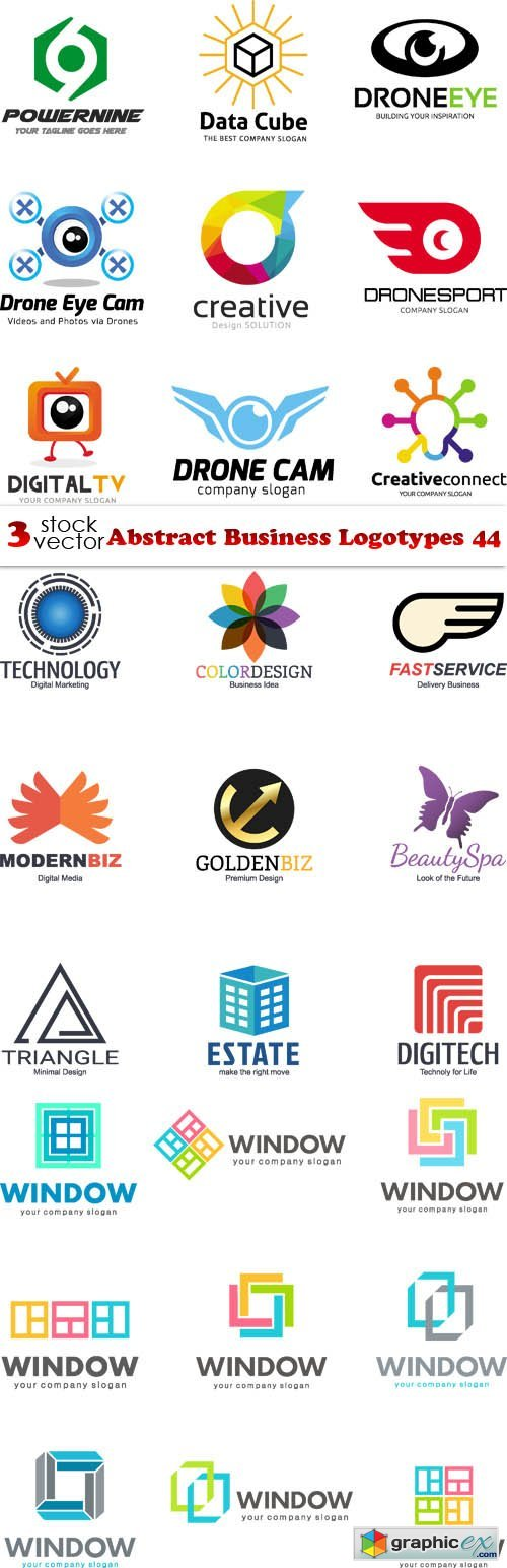 Abstract Business Logotypes 44