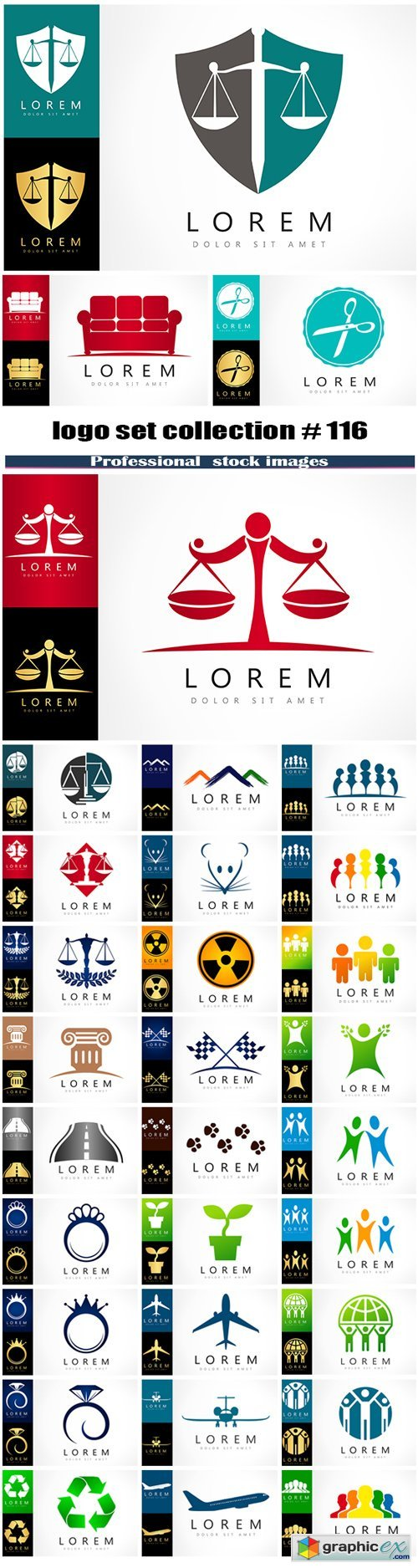 logo set collection # 116