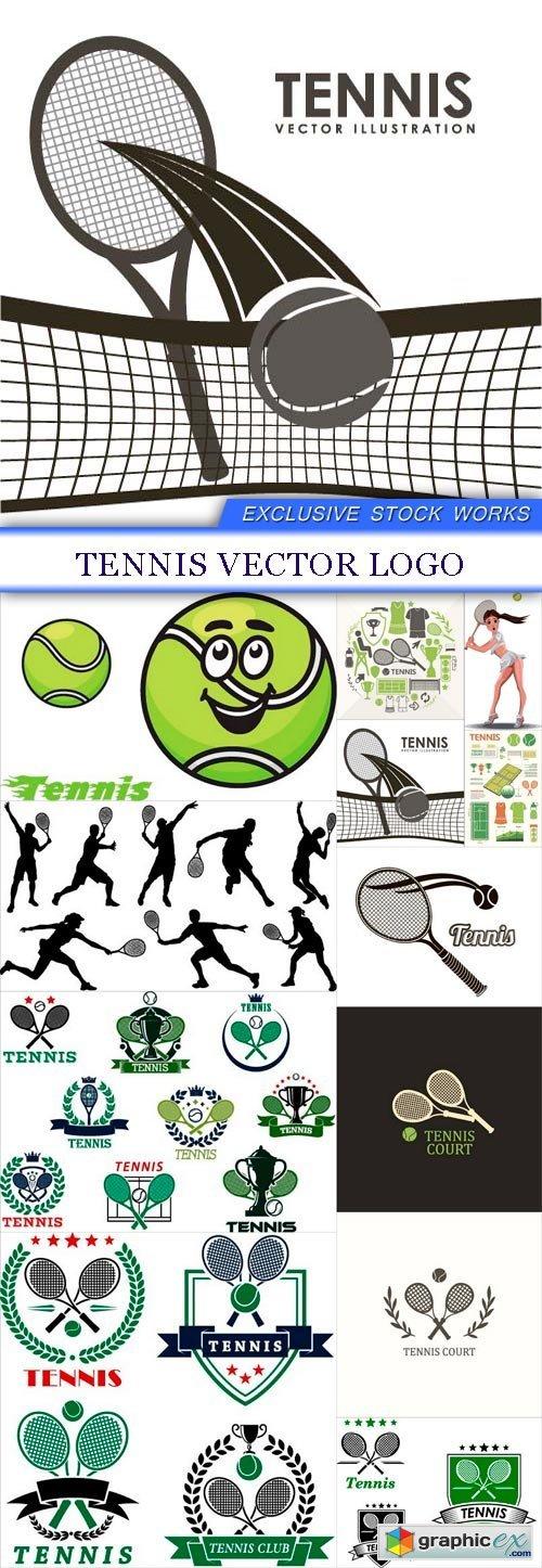 Tennis Vector logo 12X EPS