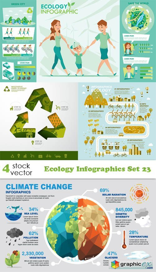 Ecology Infographics Set 23
