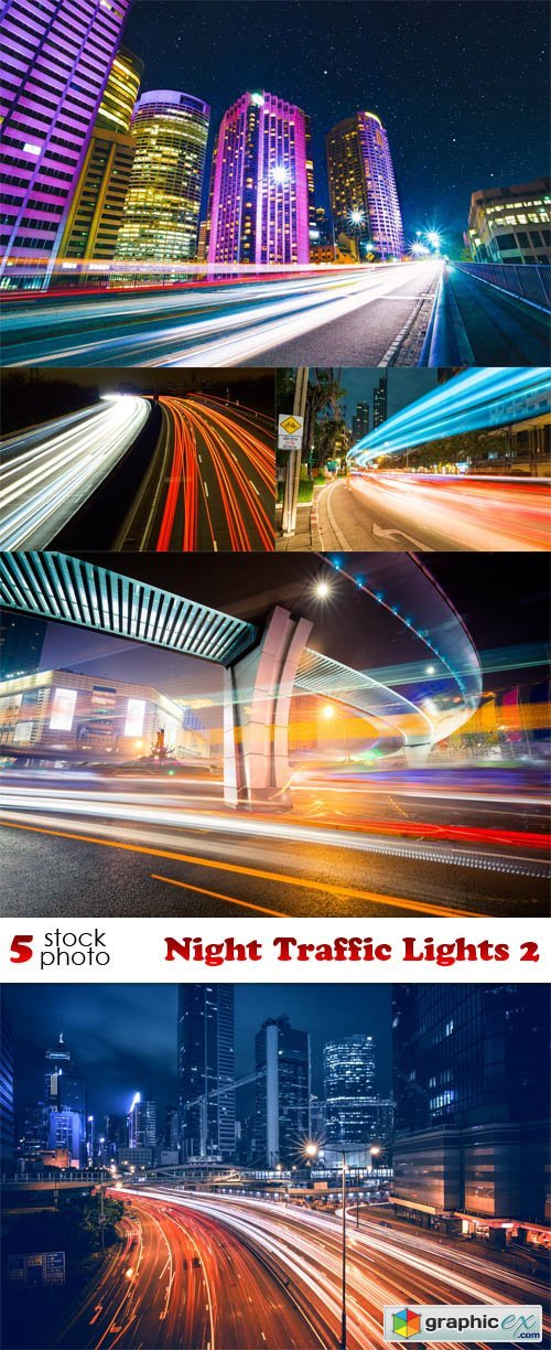 Night Traffic Lights 2