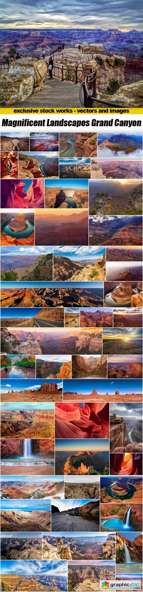Magnificent Landscapes Grand Canyon - 51xUHQ JPEG