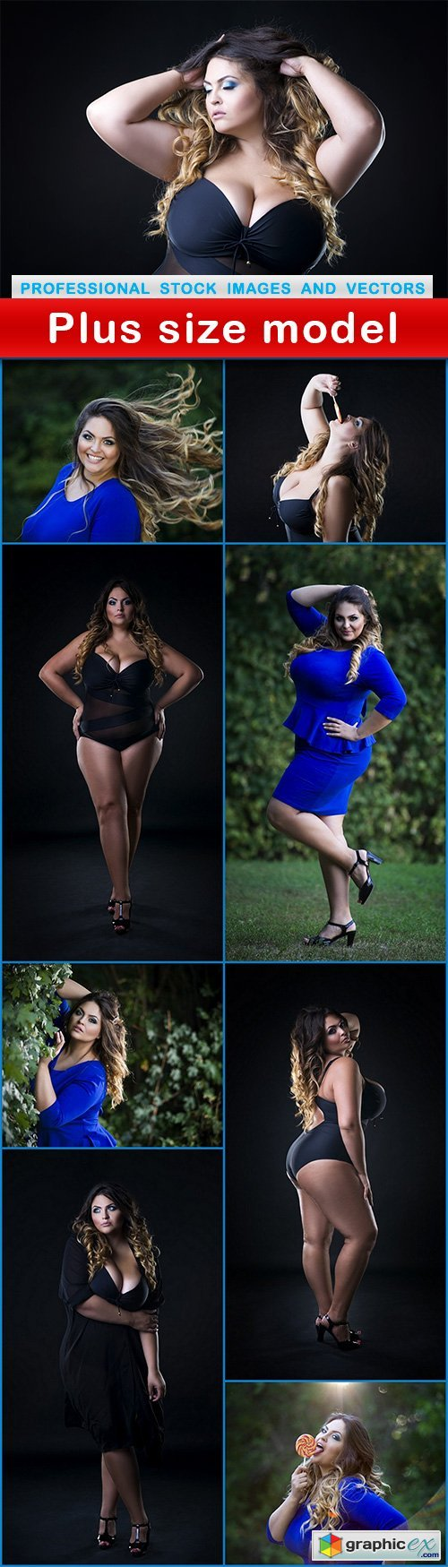 Plus size model - 9 UHQ JPEG