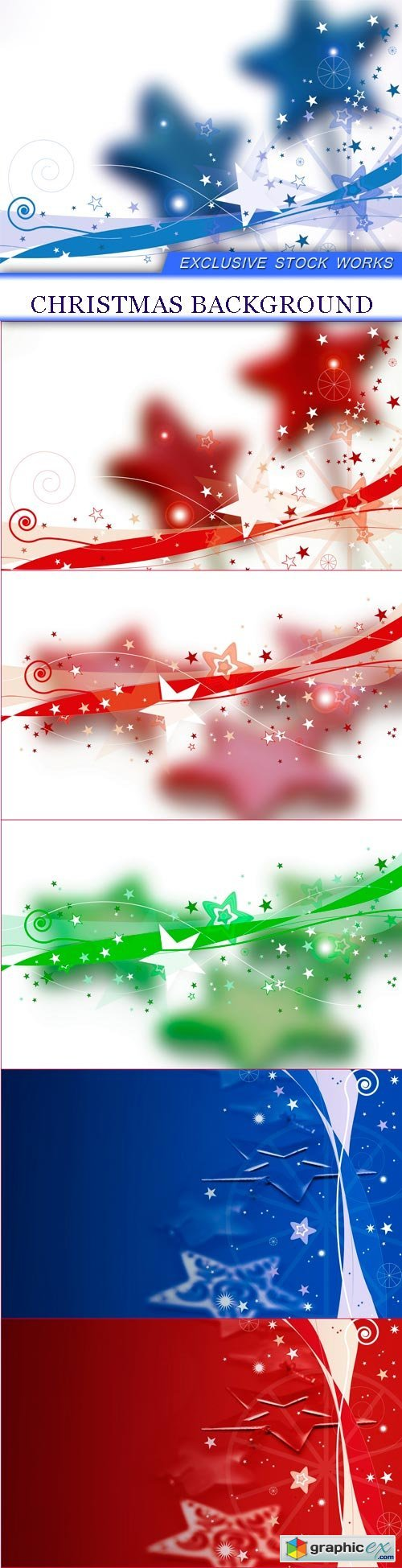 Christmas background 6X JPEG