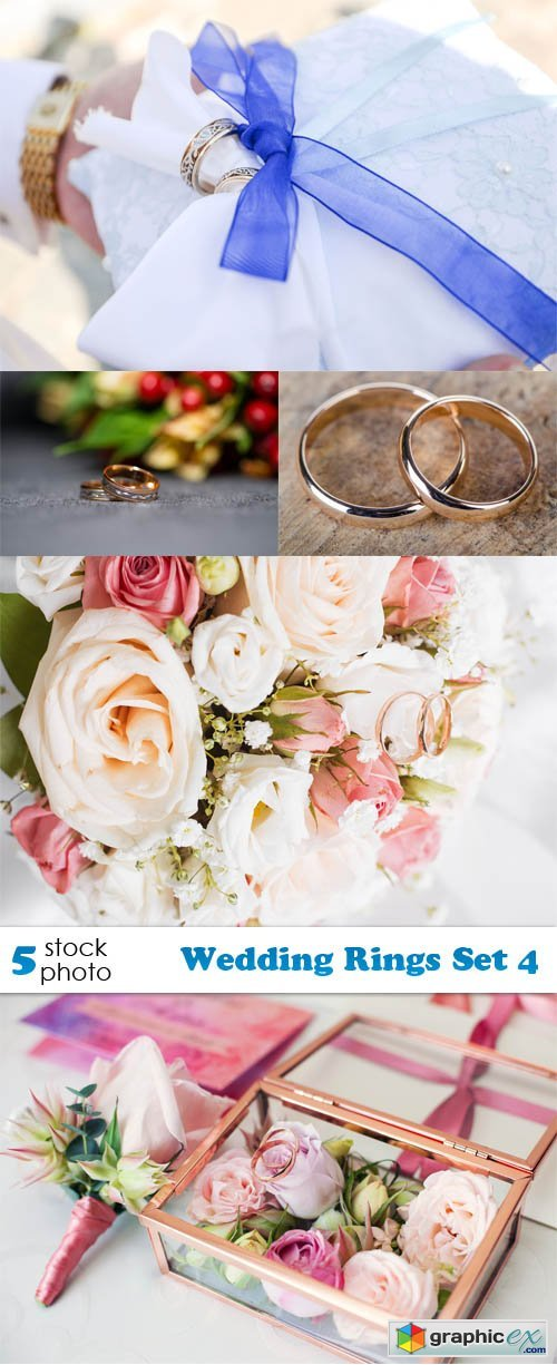 Wedding Rings Set 4