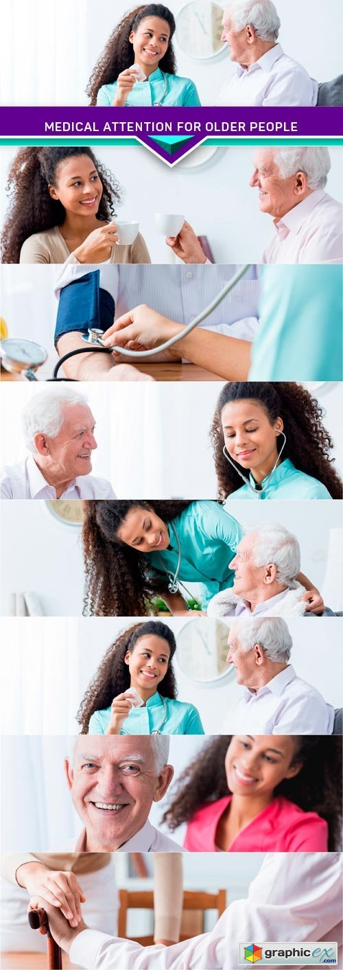 Medical attention for older people 7X JPEG