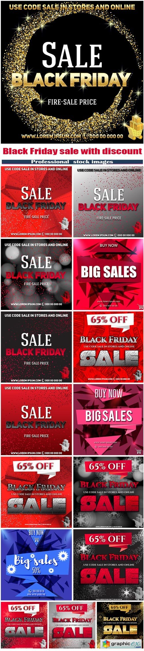 Black Friday sale with discount