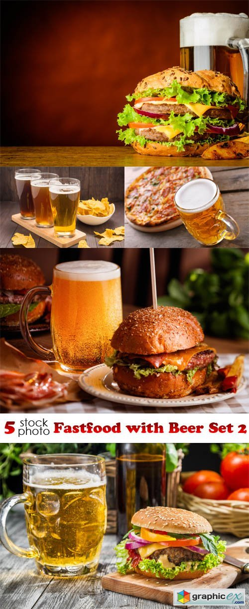 Fastfood with Beer Set 2
