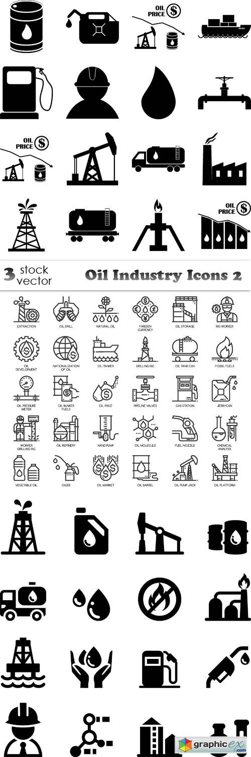 Oil Industry Icons 2