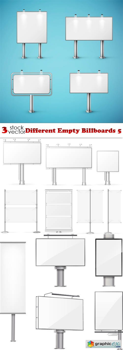 Different Empty Billboards 5