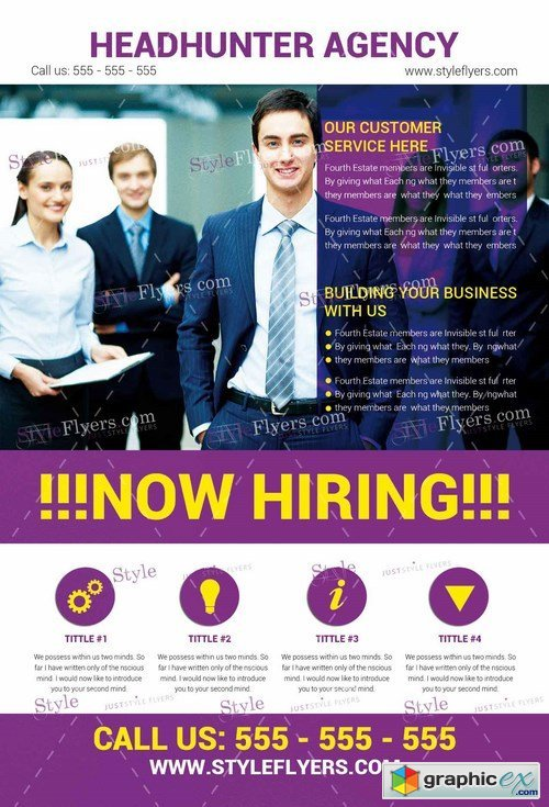 Now Hiring PSD Flyer Template Facebook Cover Free Download - Free now hiring flyer template