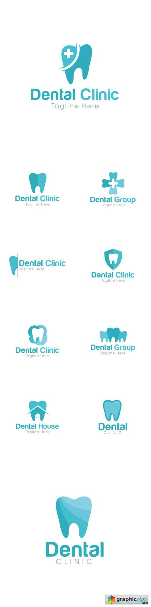 Dental Clinic Logo Creative Design