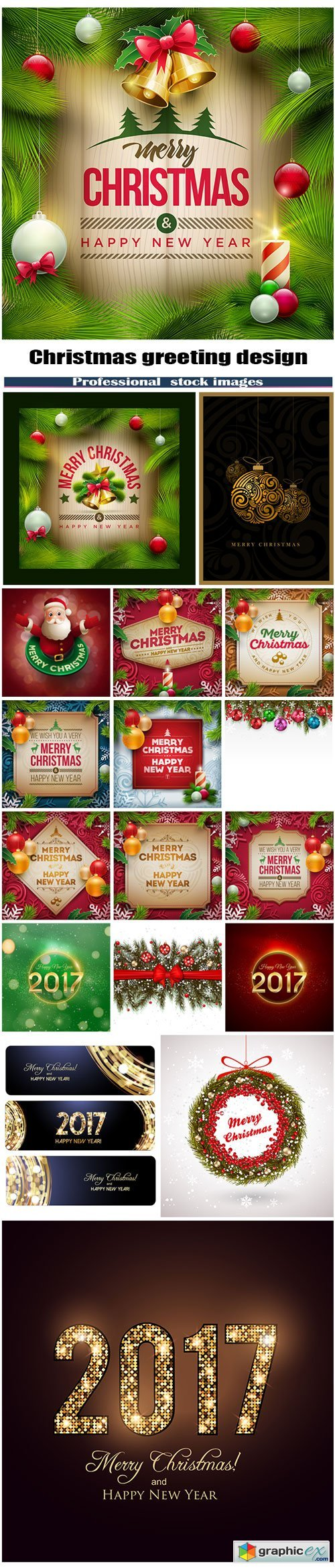 Christmas greeting design