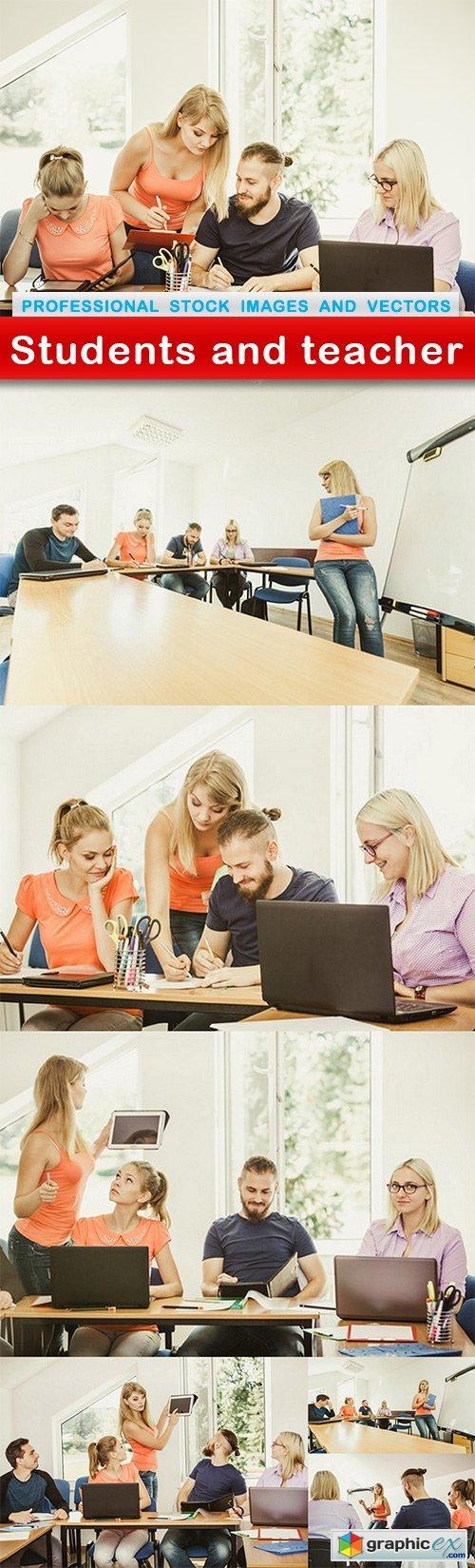 Students and teacher - 7 UHQ JPEG