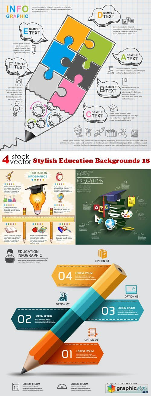 Stylish Education Backgrounds 18