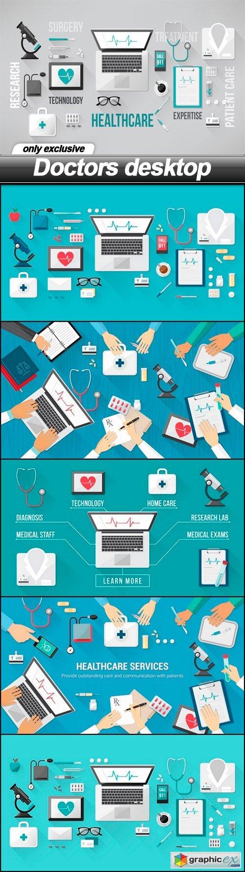 Doctors desktop - 6 EPS