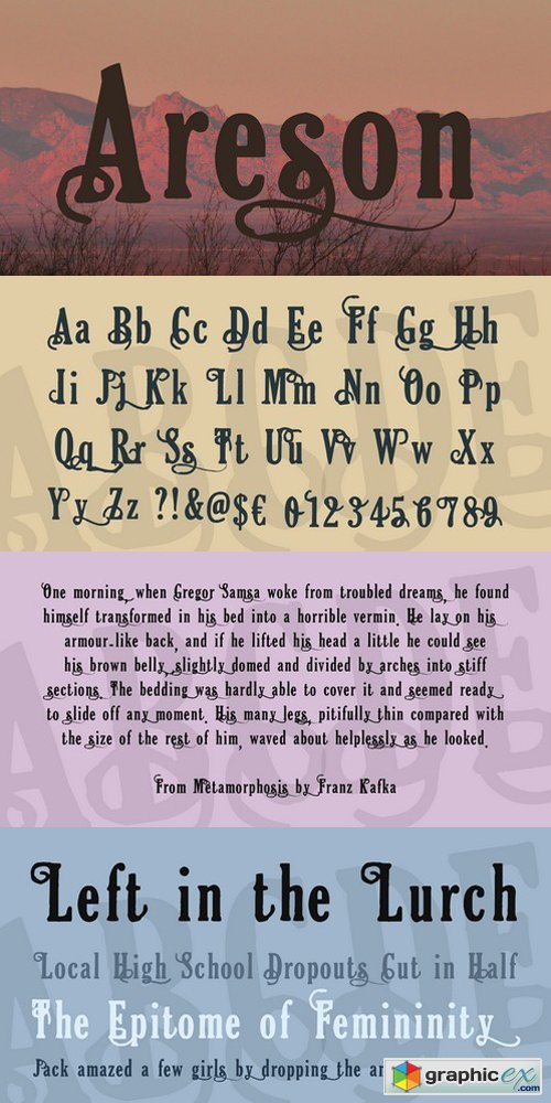 Areson Font