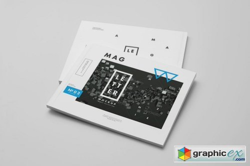 US Letter Magazine Mock up 2