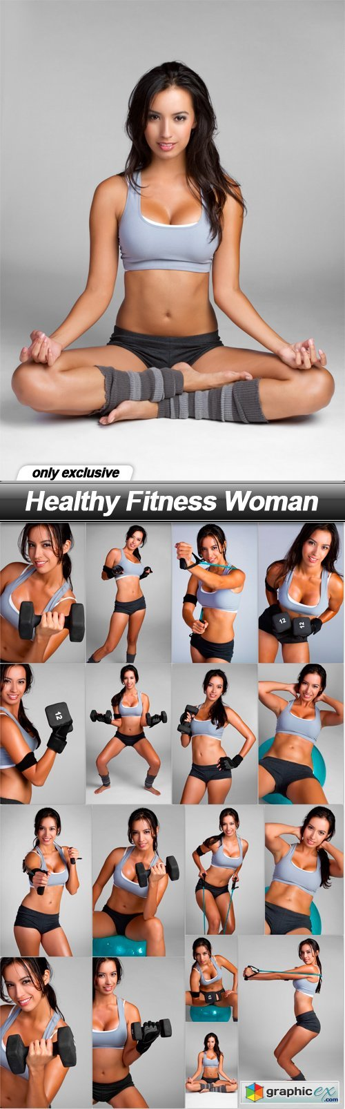 Healthy Fitness Woman - 17 UHQ JPEG