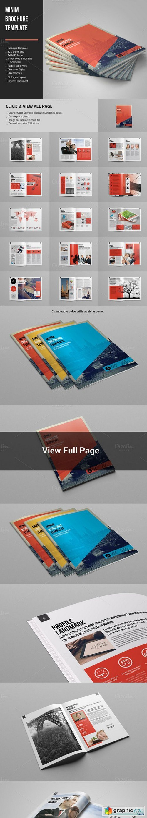 Brochure And Magazine - Free Download Vector Stock Image Photoshop Icon