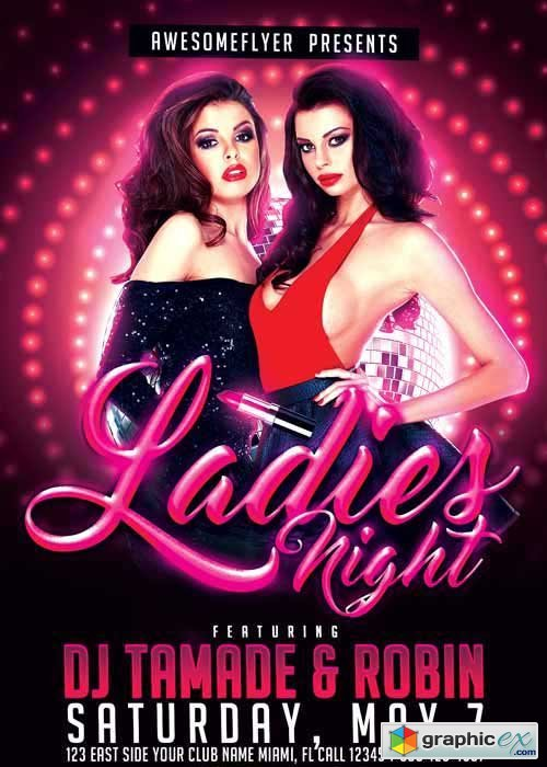 Ladies Night V17 Flyer Template