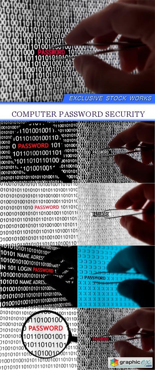 Computer Password Security 8X JPEG