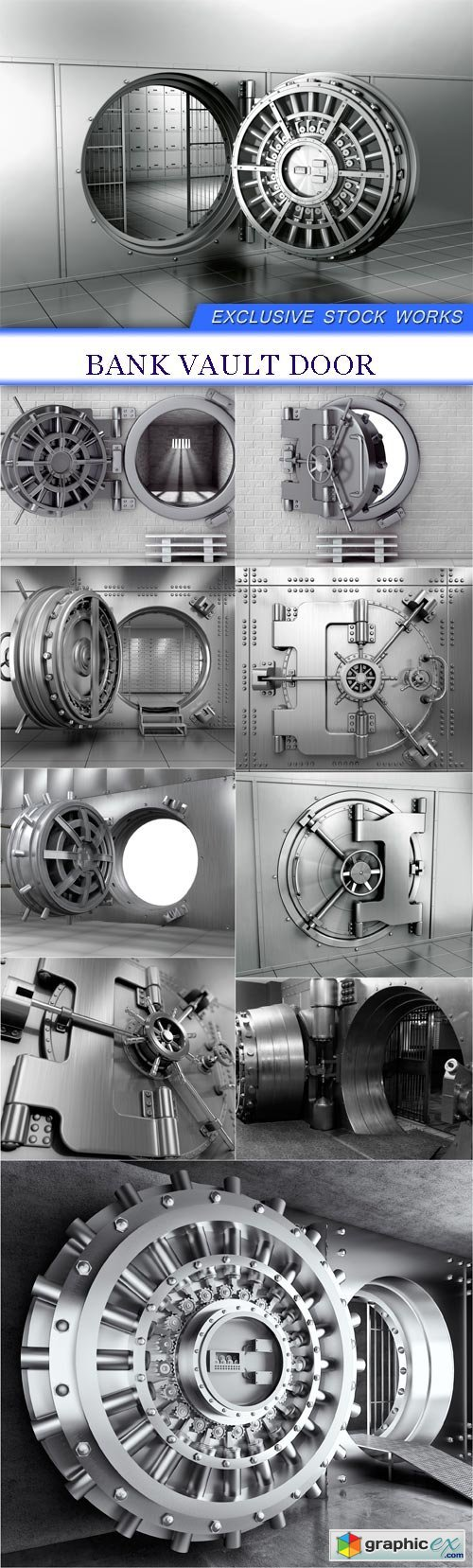 Bank Vault Door 10X JPEG