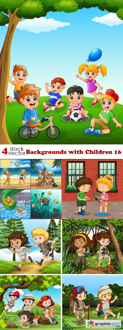 Backgrounds with Children 16