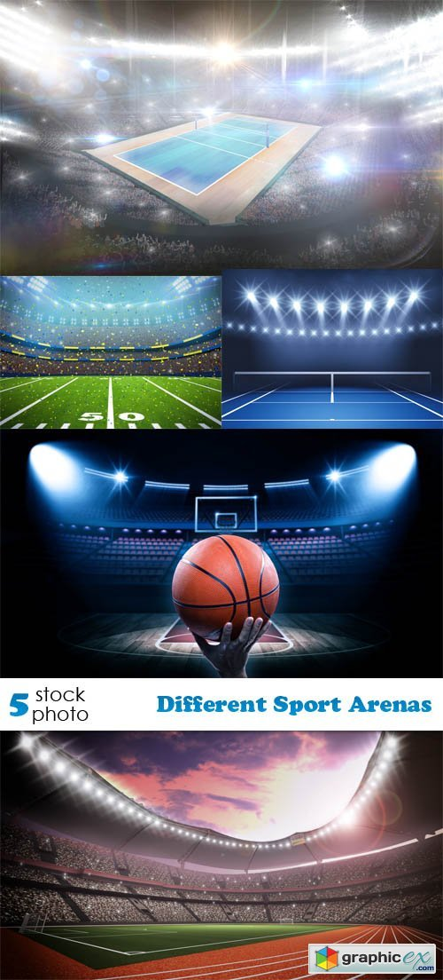Different Sport Arenas