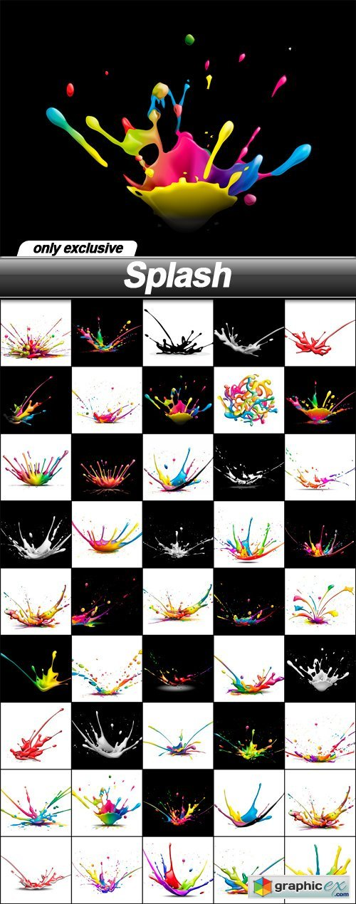 Splash - 45 UHQ JPEG