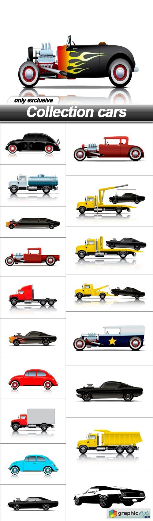 Collection cars - 19 EPS
