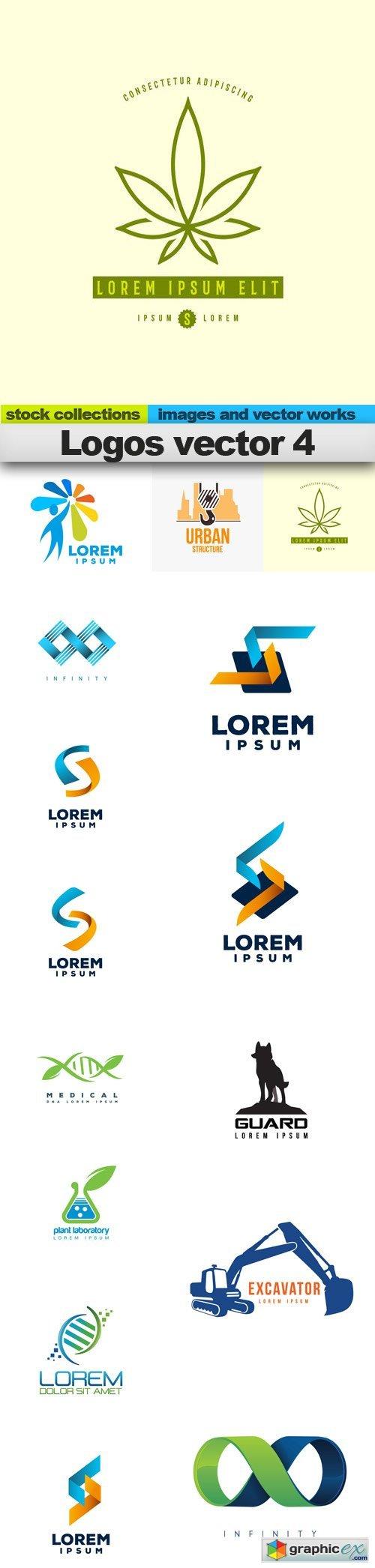 Logos vector 4, 15 x EPS