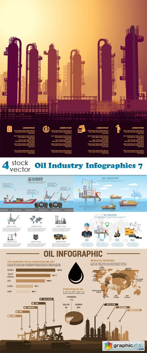 Oil Industry Infographics 7