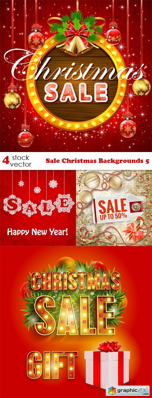Sale Christmas Backgrounds 5