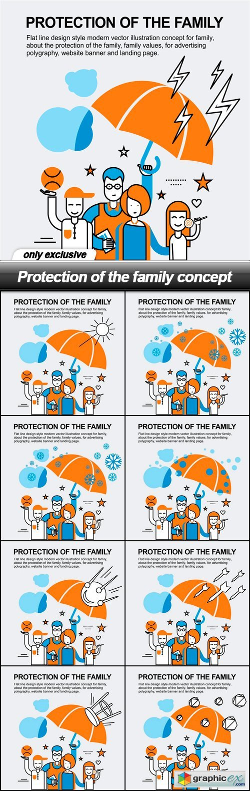 Protection of the family concept - 9 EPS