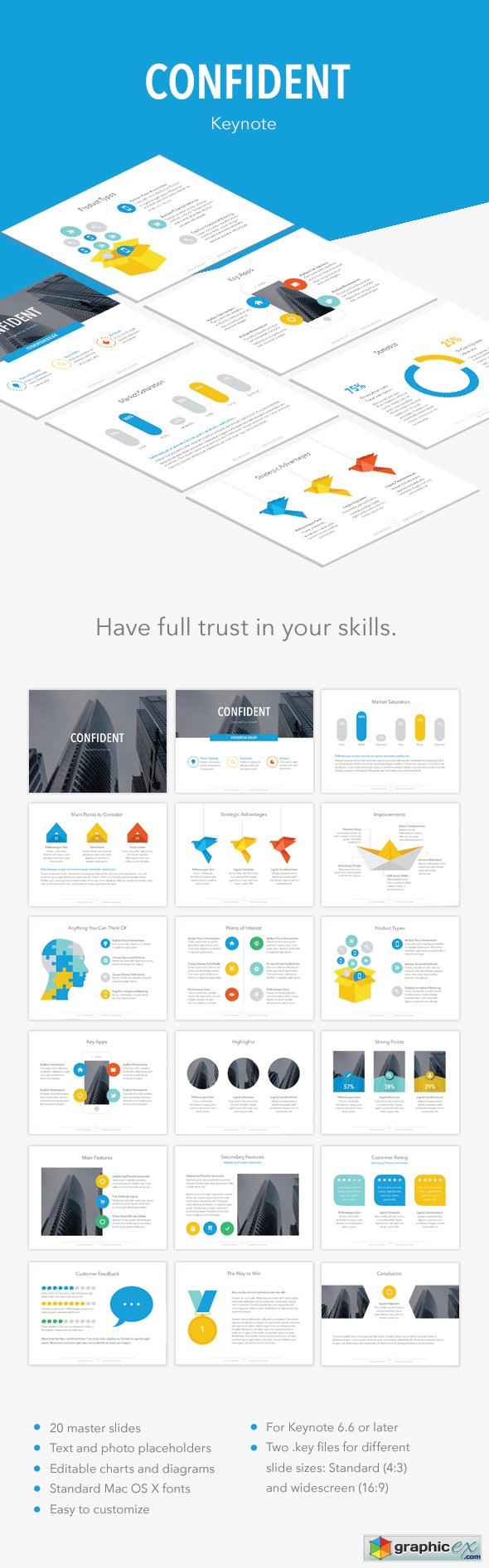 Confident PowerPoint Template 14726315