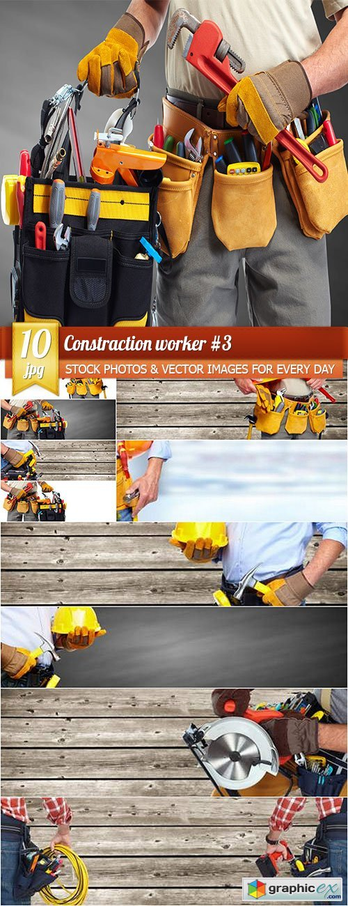 Constraction worker 3, 10 x UHQ JPEG