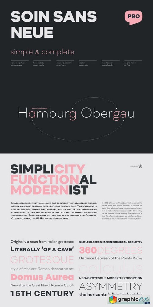 Soin Sans Neue Font Family