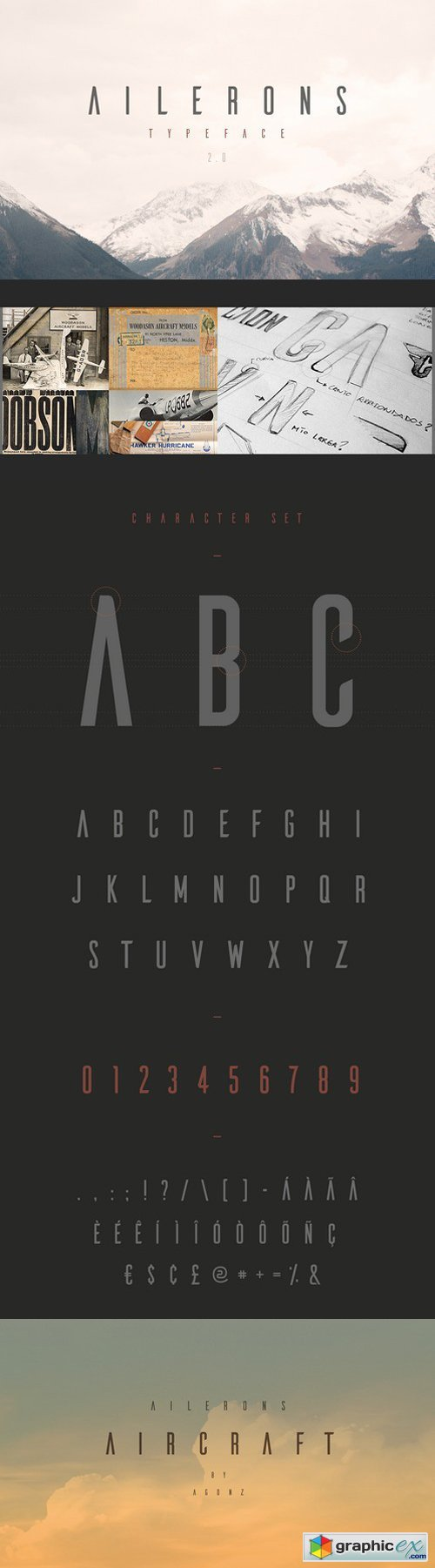 Ailerons Typeface V 2.0